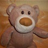 Мягкий медведь медвежонок мишка в кедах 40 см.