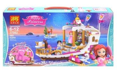 Конструктор Lele 37062 Королевский корабль Ариэль. Принцессы аналог Lego Disney Princess 41153