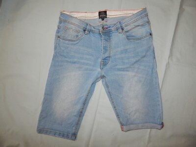 шорты джинсовые мужские стильные модные р36 рL Industrialize