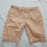 шорты мужские котоновые стильные модные р34 L бежевые