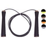 Скакалка скоростная со стальным тросом и подшипником Cima J609 длина 3м микс цветов