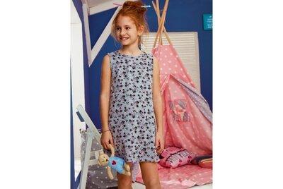 Детская короткая ночная сорочка для девочки Мышки , Donella Турция