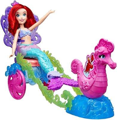 Disney Принцесса Ариель в морской карете E1699 Princess Ariel's Under the Sea Carriage
