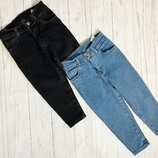 джинсы Мом для девочек два цвета с 4-15 лет