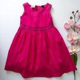 Нарядное платье сукня плаття хлопок бавовна 92 см gap
