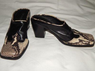 Кожаные итальянские туфли Next Размер 39 6 .