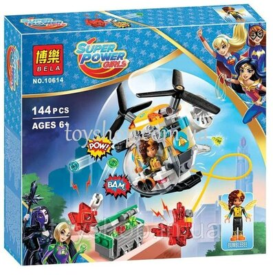Конструктор Bela Super Hero Girls Вертолёт Бамблби