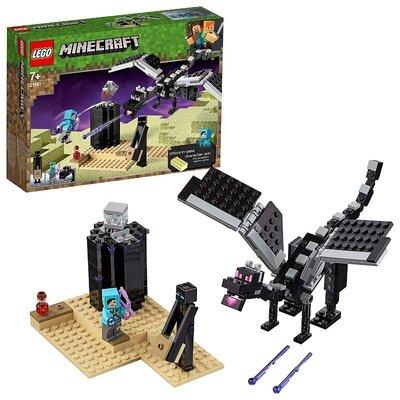 Конструктор лего майнкрафт 21151 Lego Minecraft Последняя битва