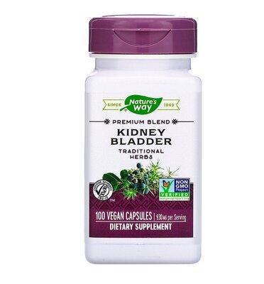 Nature´s Way. Kidney Bladder. Здоровье почек и мочевого пузыря, 100 шт