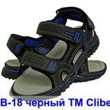 Кожаные босоножки сандали босоніжки летняя літнє обувь взуття мальчику хлопчику clibee,р.31-36