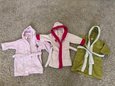 Халаты на 1-2 года