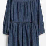 практичное стильное Джинсовое Платье Для Девочки GAP США