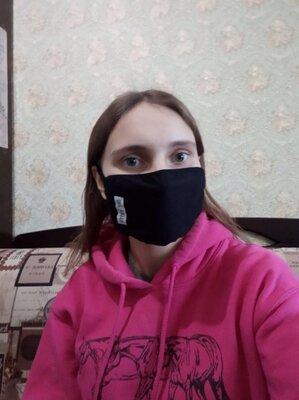 Многоразовые черные маски