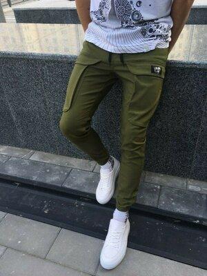 Карго штаны LC хаки