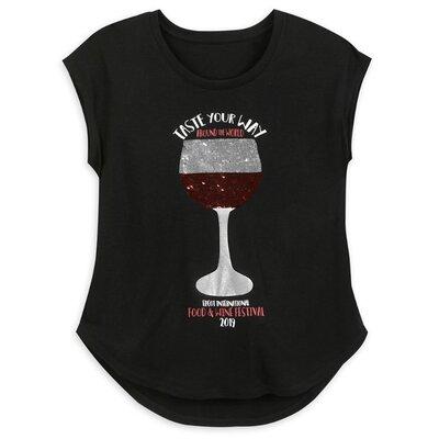Женская футболка с пайетками перевёртышами, L, оригинал Disney Store