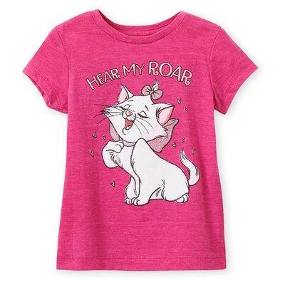 Футболка Disney Store для девочки 5-6 лет с кошечкой Мари -Коты Аристократы