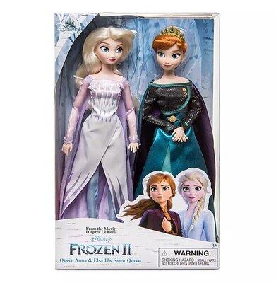 Набор кукол Королева Анна и Снежная королева Эльза - Холодное сердце-2 от Disney