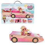Кабриолет с куклой LOL Surprise Car Pool Coupe. Машинка лол 565222.