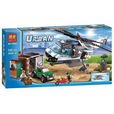 Продано: Бела Сіті 10423 конструктор Bela Urban City Вертолітний патруль аналог Лего