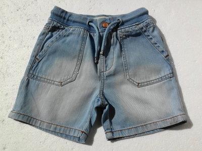 Zara. Джинсовыe шорты на резинке. 92 размер.