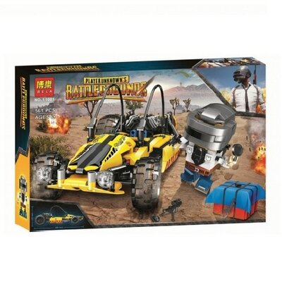 Конструктор Bela 11081 Аналог Lego Creator Battlegrounds Багги 561 деталь