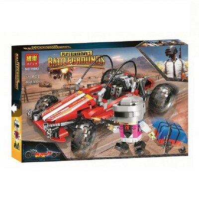 Конструктор Bela 11082 Аналог Lego Creator Battlegrounds Гоночный автомобиль 570 деталей