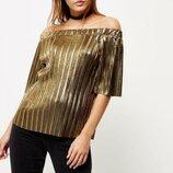 Очень красивая стильная блуза от River Island рр 10 наш 44