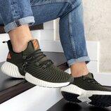 Кроссовки мужские Adidas Alphabounce хаки