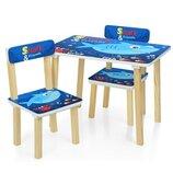 Детский столик 501-74 со стульчиками Shark