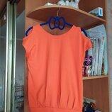 Продам красивую летнюю футболку для девочки ростом 158см