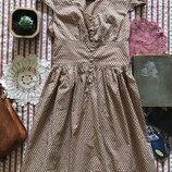 Платье в стиле ретро винтаж хлопок Topshop размер 10 можно раньше