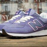 Кроссовки женские New Balance 574 , фиолетовые