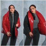 Двох стороння куртка жіноча 48-54 мод .5310