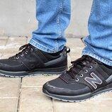 Кроссовки мужские черные демисезонные М30-1-Ч