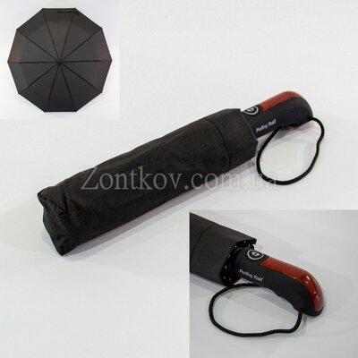 Мужской зонт полный автомат на 10 качественных спиц от т.м. Feeling Rain 458