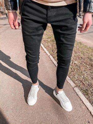 2020. Варианты. Европейское качество. Мужские стильные джинсы рваные зауженные 2Y Premium 5192