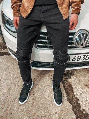 2020. Варианты. Европейское качество. Мужские стильные джинсы рваные зауженные 2Y Premium B 5082