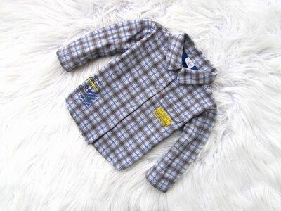 Качественная и стильная теплая рубашка Les Bebea