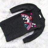 Теплая кофта свитер длинный кофта Next