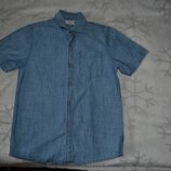джинсовая рубашка Next на 9 лет рост 134 Англия