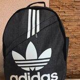Рюкзак спортивный адидас adidas городской . серый