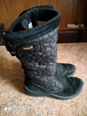 Сапожки зимние непромокаемые для девочки Капика