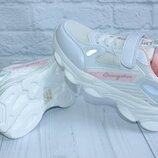 7420А Легкие подростковые кроссовки на девочку, р. 36