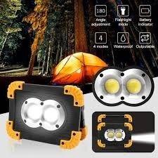 Фонарь прожектор 20W LL811 Power Bank IP55 Super Bright LED