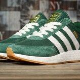 Кроссовки женские Adidas Iniki, зеленые