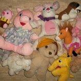 Много мягких игрушек Цена за всё