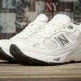 Кроссовки женские New Balance 991, белые
