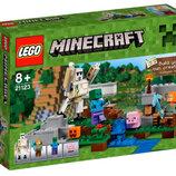 Конструктор LEGO Minecraft Железный Голем 21123 лего майнкрафт
