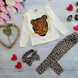 Костюмчик для девочки Леопард