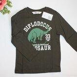 Реглан динозавр для мальчика 4-6 лет от H&M